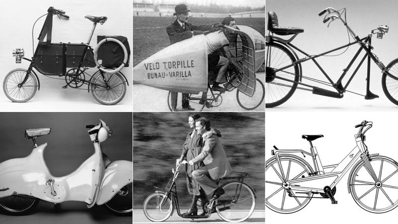 Illustration for article titled 7 Crazy Bikes That Almost Changed Cycling Forever