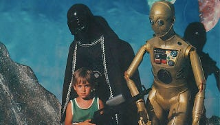 Illustration for article titled A Treasure Trove of Awesome Old-School Star Wars Costumes