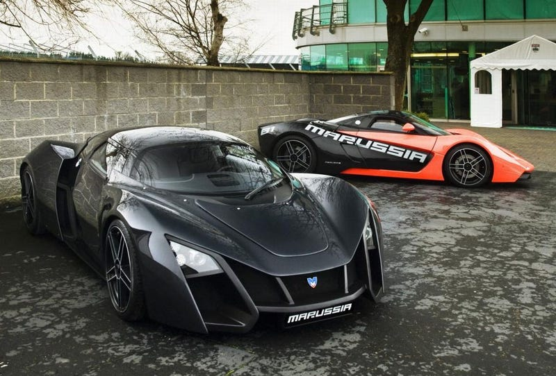 Illustration for article titled Marussia B1 And B2 Begin Production, Lenin Spins In Grave