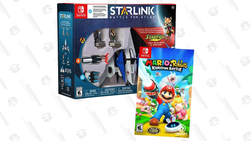 Mario + Rabbids Kingdom Battle and Starlink: Battle for Atlas Starter Pack | $30 | Best Buy