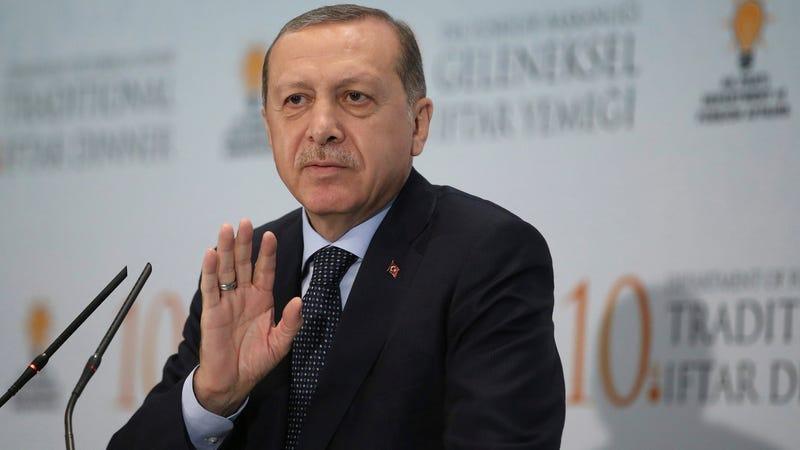 Turkish President Recep Tayyip Erdoğan. (Image: AP)