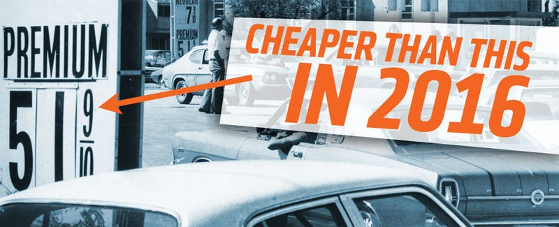 Illustration for article titled Gas Was 47¢ A Gallon At One Michigan Station Over The Weekend