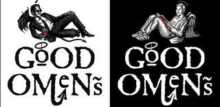 Illustration for article titled Neil Gaiman and Terry Pratchett are adapting Good Omens for Radio