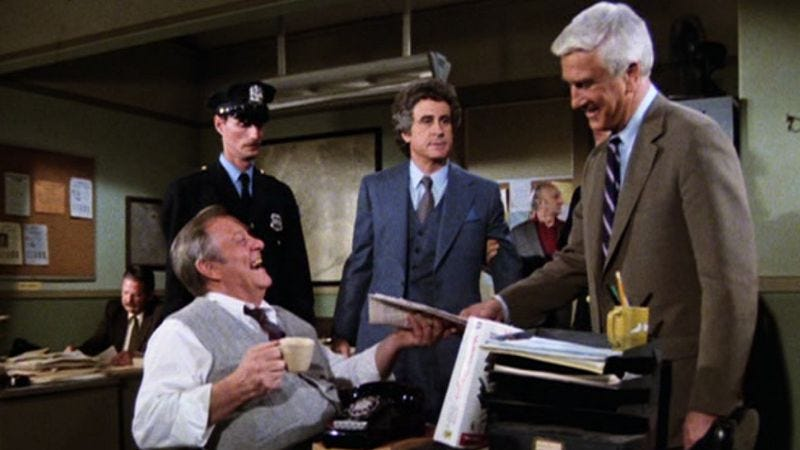 """Illustration for article titled Police Squad!: """"Ring Of Fear (A Dangerous Assignment)"""""""