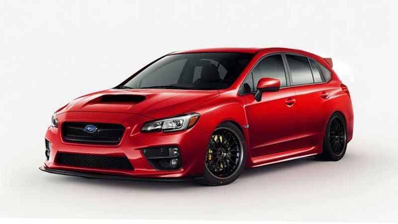Illustration for article titled What would a lightly tuned 2015 WRX Wagon look like