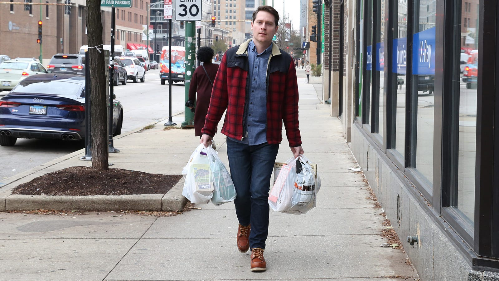 Adrenaline Supply Intended For Lifting Car Off Loved One Called Upon To Carry 4 Grocery Bags At Once