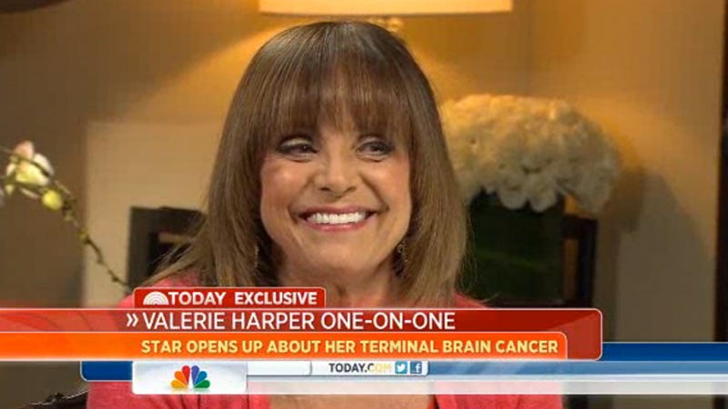 Illustration for article titled Valerie Harper Amazingly Optimistic About Incurable Cancer: 'I'm Not Dying Until I Do'