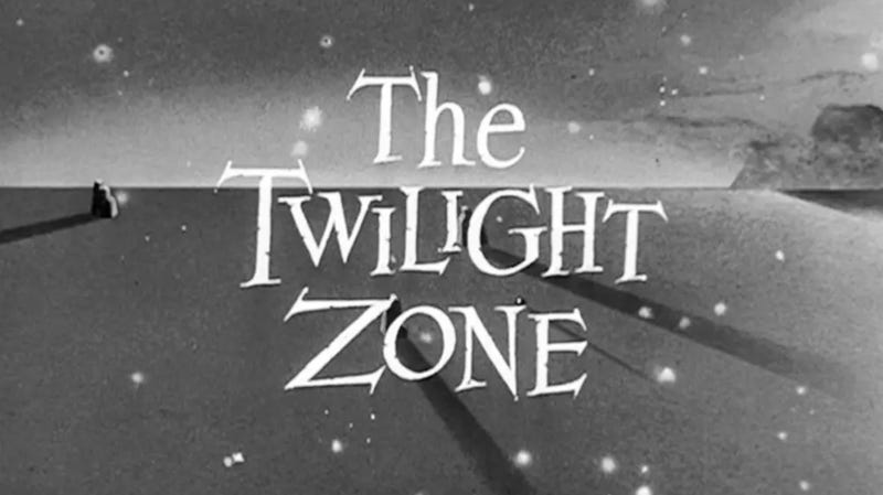 A logo for the original Twilight Zone.
