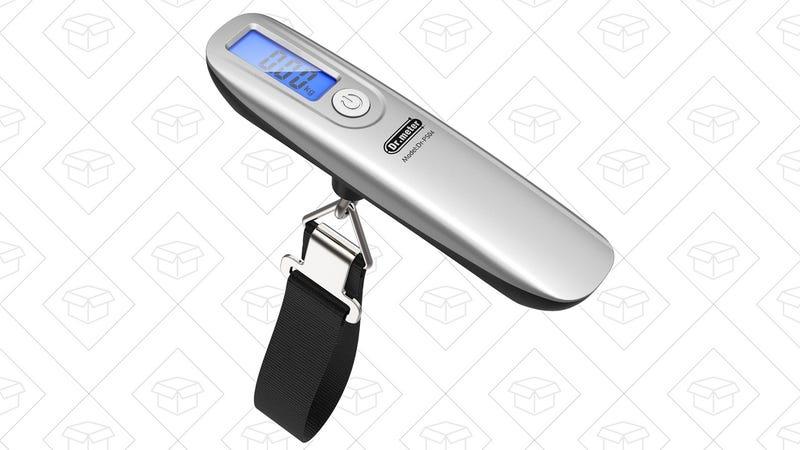 Dr. Meter Luggage Scale | $6 | Amazon | Promo code 77URMEAI
