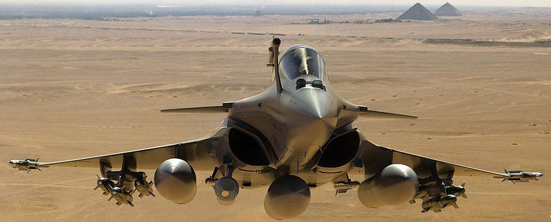 Illustration for article titled Rafale Has Gone From Long-Time Export Flop To Huge Success In 45 Days