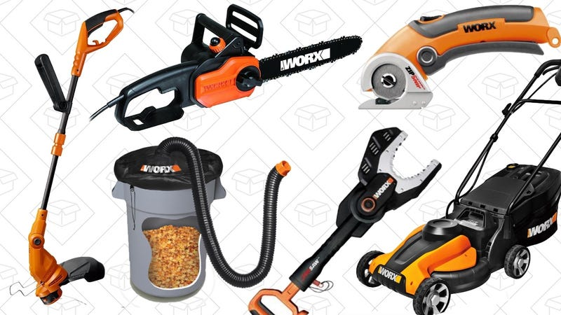 20% off Worx products. Check out with PayPal and use code COLUMBUS2016