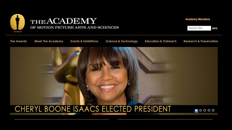 Illustration for article titled Academy of Motion Pictures Elects African-American Woman as President