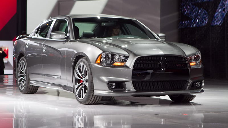 we told you this morning about the newly refreshed larger engined 2012 dodge charger srt8 with a top speed of 175 mph and a sub five seconds 0 60 time - Dodge Charger 2012