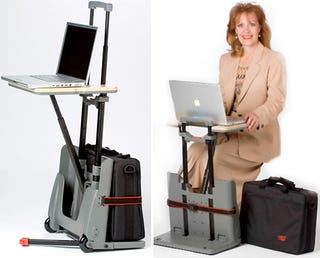 Illustration for article titled The CartDesk Is Aimed at a Very Specific Type of Traveler