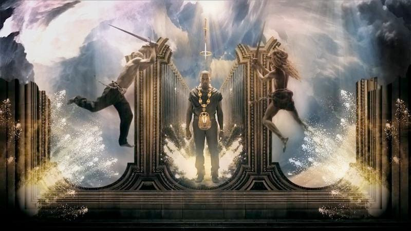 """Illustration for article titled With """"Power,"""" Kanye West started the decade anew"""