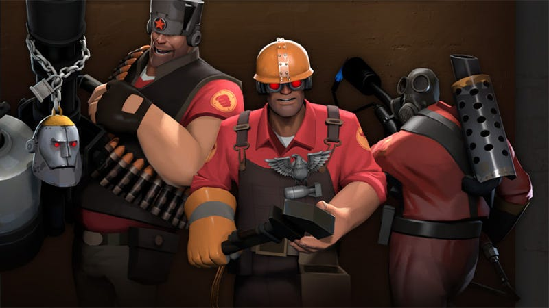 Illustration for article titled Mouse And Keyboard? Pfft. How About The Possibility Of Team Fortress 2 On Virtual Reality Goggles?