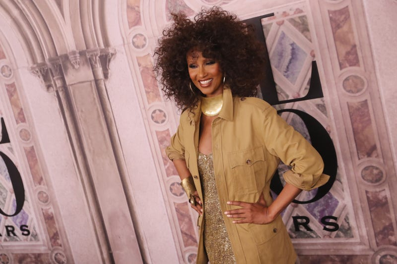 Iman attends the Ralph Lauren fashion show during New York Fashion Week at Bethesda Terrace on September 7, 2018 in New York City.