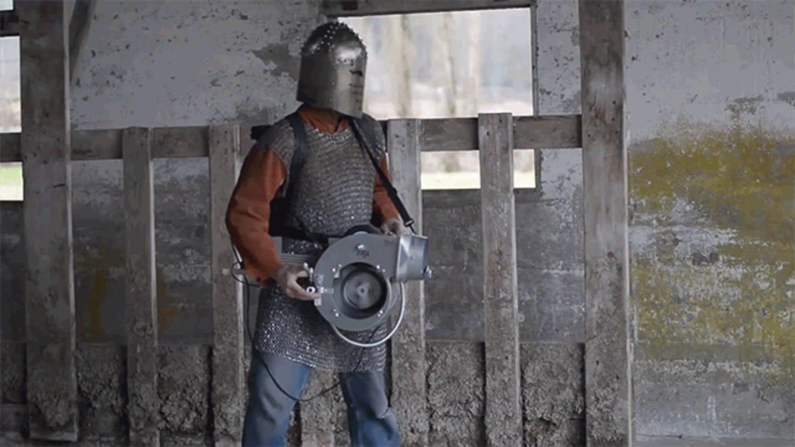 A Real-Life Nine-Inch Nail Gun Puts Puny Nerf to Shame