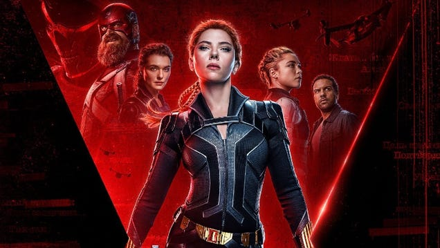 Black Widow Is Coming Home on July 9