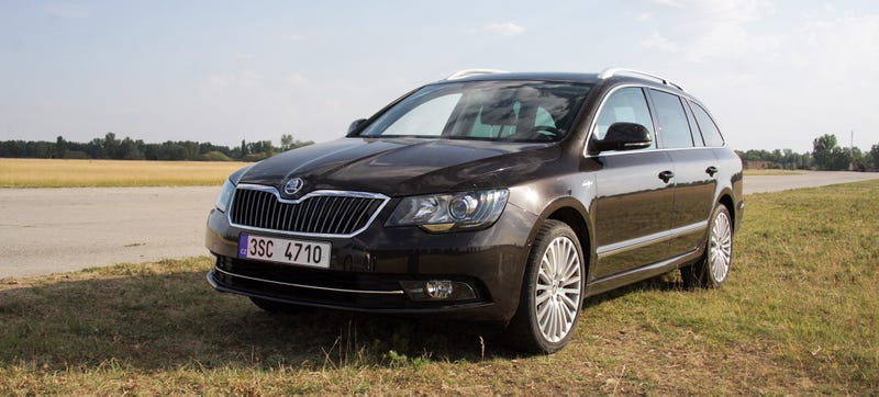 Illustration for article titled Europe's All Around Best Value Executive Car Is This Wagon
