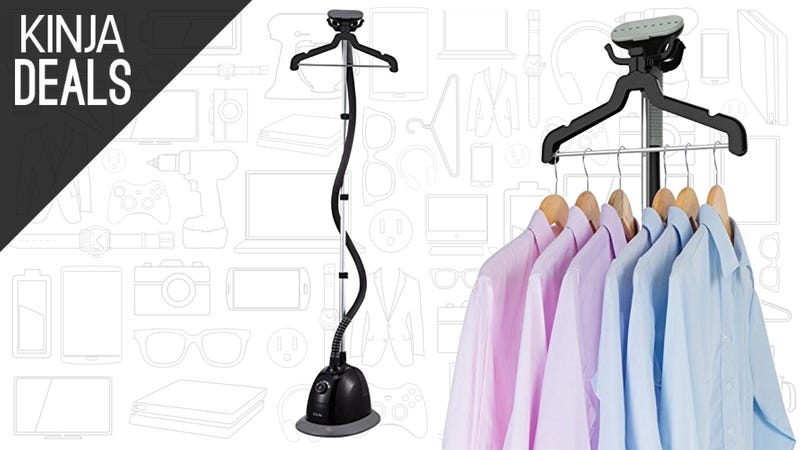 Illustration for article titled Eliminate Wrinkles With This $40 Garment Steamer