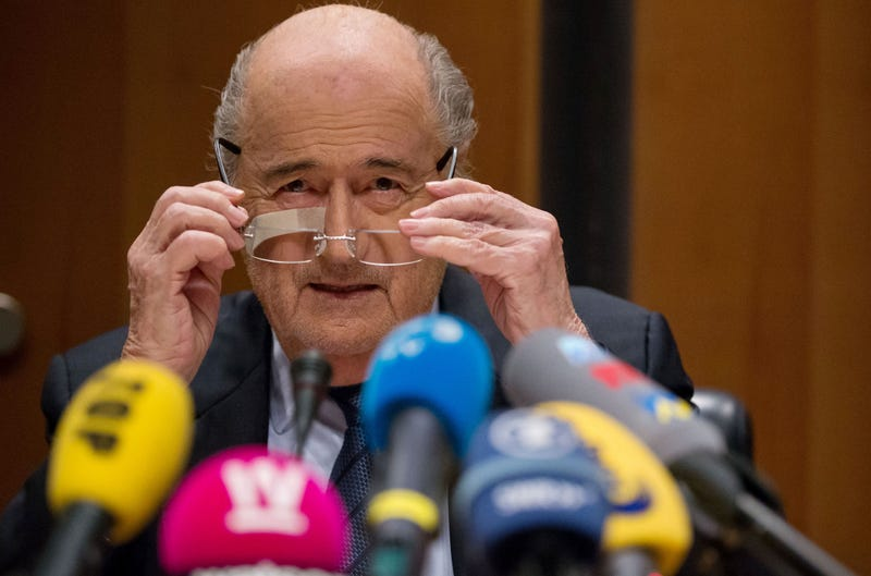 Illustration for article titled Sepp Blatter Calls Out Tough-Talking Brands For Being Phony