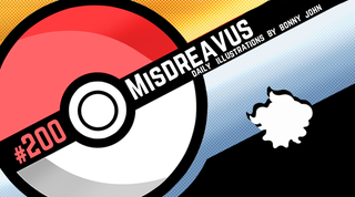 Illustration for article titled Maddening Misdreavus!  Pokemon One a Day, Series 2!