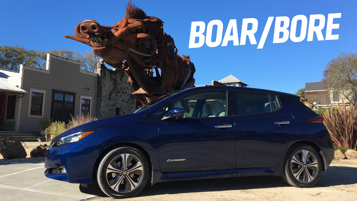 The 2018 Nissan Leaf Is An Electric Car For Calm Rational Adults Engine Diagram