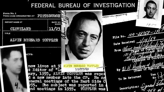 Alvin toffler investigated by fbi for communist activities according alvin toffler who died in 2016 will be remembered for his many contributions to the work of futurism toffler was a prolific writer most notably the fandeluxe Choice Image