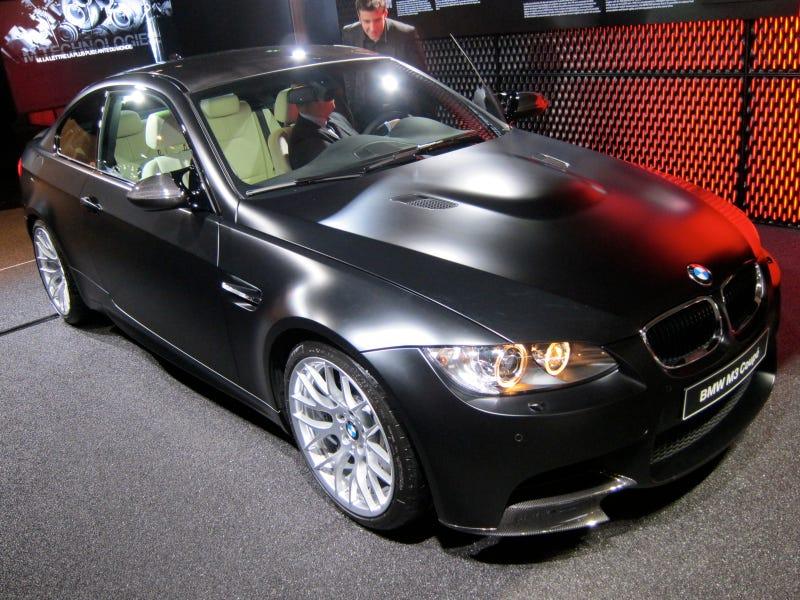 Illustration for article titled Meet The Matte Black BMW M3