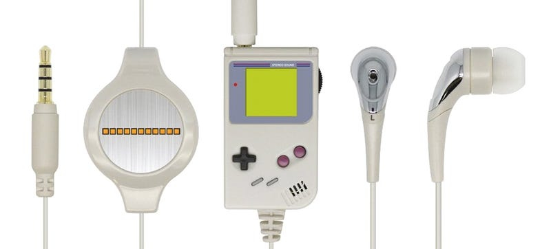 Illustration for article titled These Tiny Game Boy Headphones Are Wonderful, Even If They Sound Awful