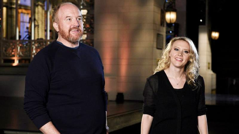 Louis CK, Kate McKinnon (NBC)