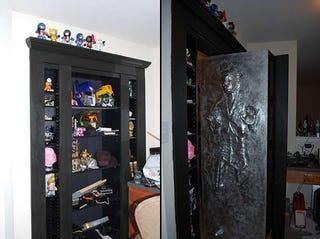 Illustration for article titled A Secret Door, Hidden Room, and Han Solo Frozen in Carbonite
