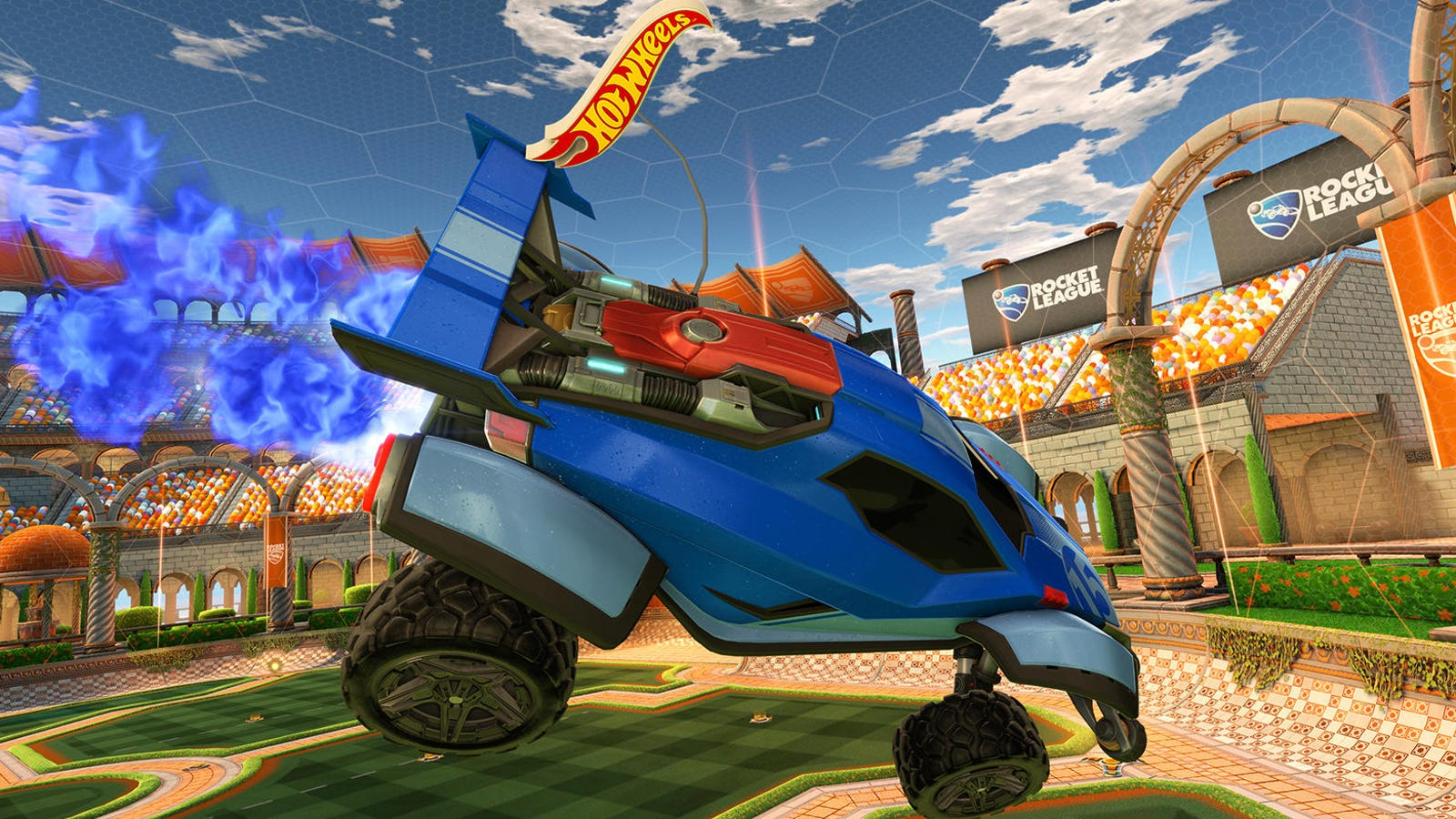 Hot Wheels RC Brings Rocket League To Life This Fall
