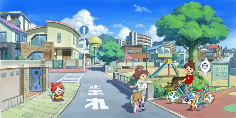 Illustration for article titled Yokai Watch Could be the Next Pokemon
