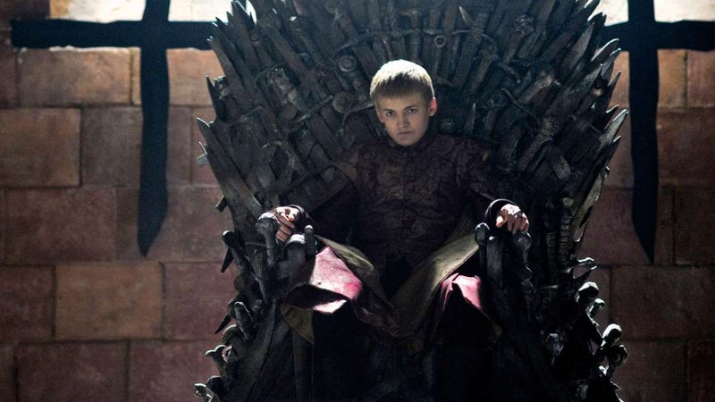 Somebody better pull the Joffrey pose. All I'm saying.