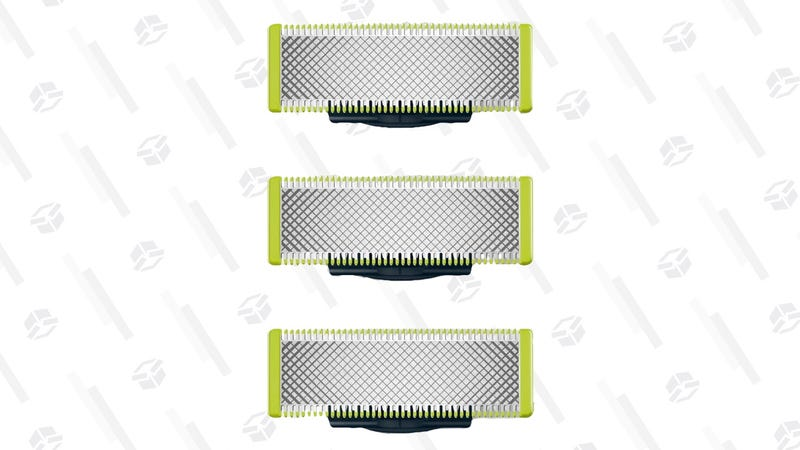 Three-Pack Philips OneBlade Replacement Blades | $26 | Amazon | Clip the $7 coupon and use Subscribe & Save
