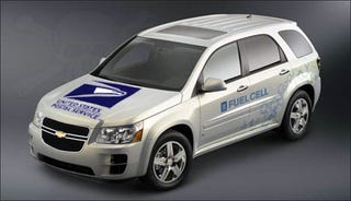 Illustration for article titled GM Using US Postal Fleet As Fuel Cell Equinox Test Bed