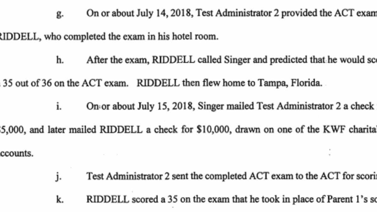 IMG Academy Director Who Took Students' Tests Didn't Cheat, Was Just