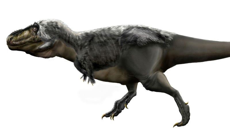 Reconstrucción moderna de un T-Rex. Imagen: Deviantart