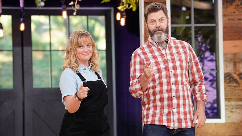 Amy Poehler and Nick Offerman host Making It