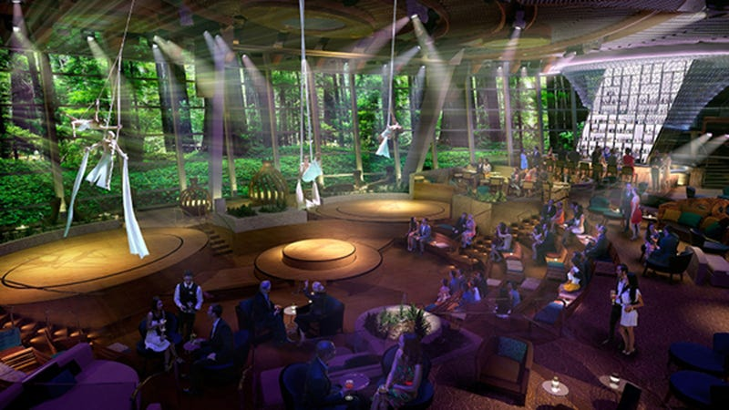 Illustration for article titled With Video Walls This Huge, You'll Forget You're on a Cruise Ship