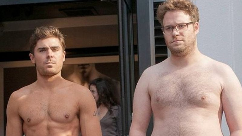 Illustration for article titled Best buds Zac Efron and Seth Rogen are getting back together for Neighbors 2