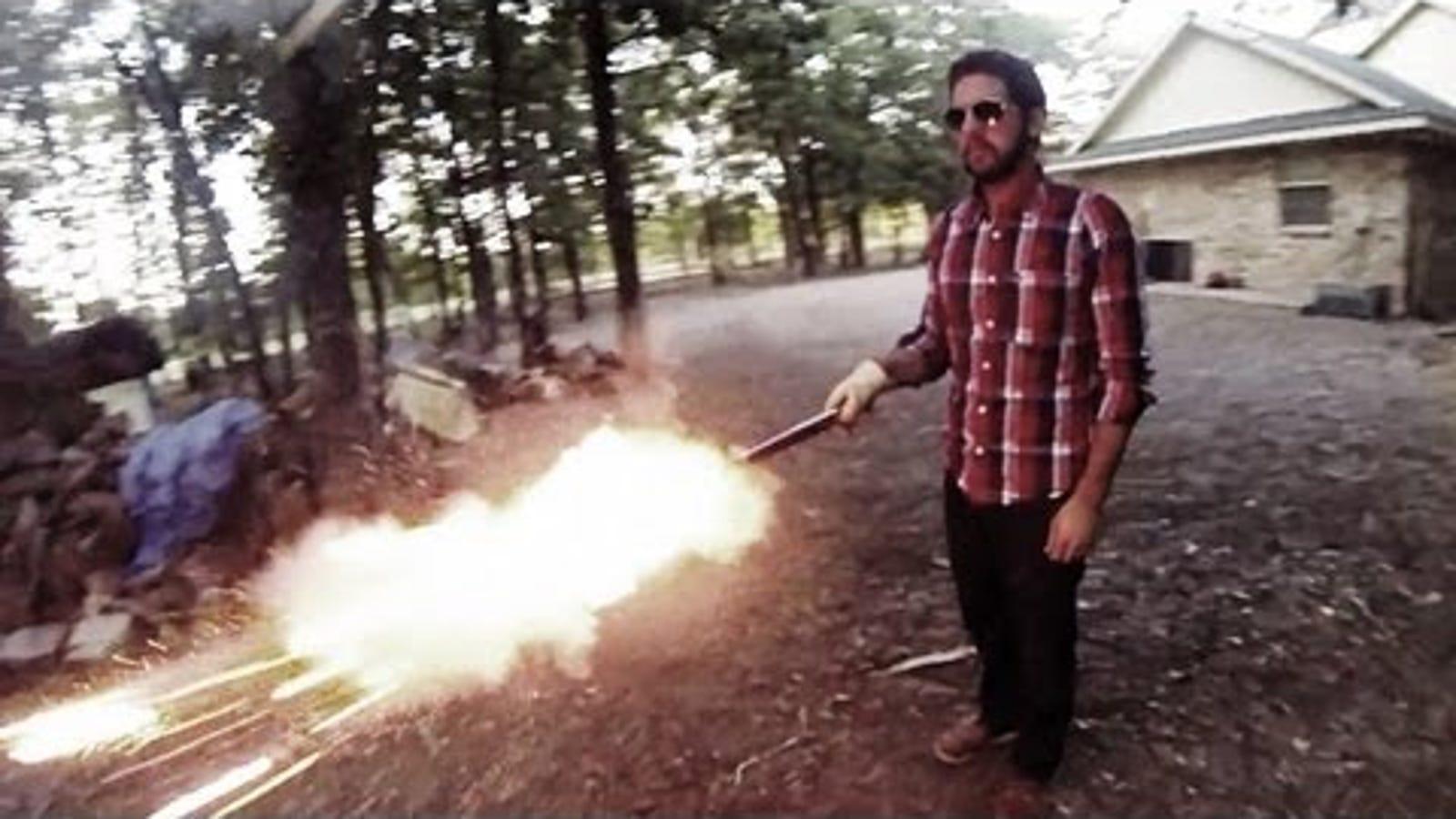 Cómo crear el efecto bala de Matrix con una cámara y un ventilador