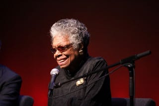 Medal of Freedom recipient honoree Dr. Maya Angelou