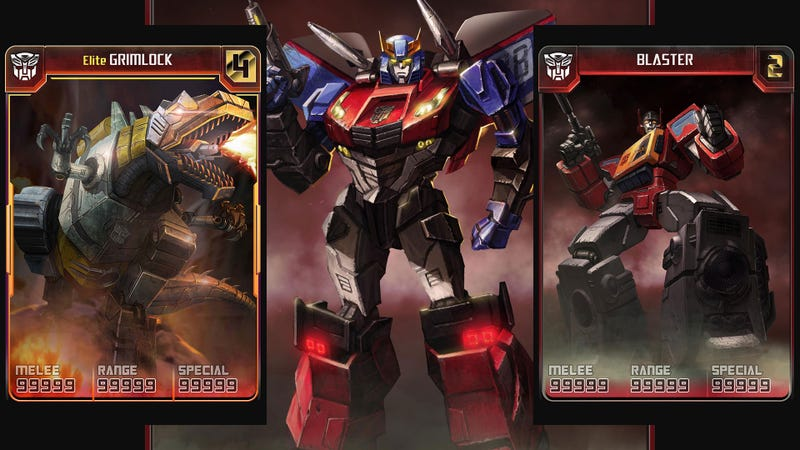 Illustration for article titled Transformers Mobile Transforms into Transformers Legends in Time for PAX Prime