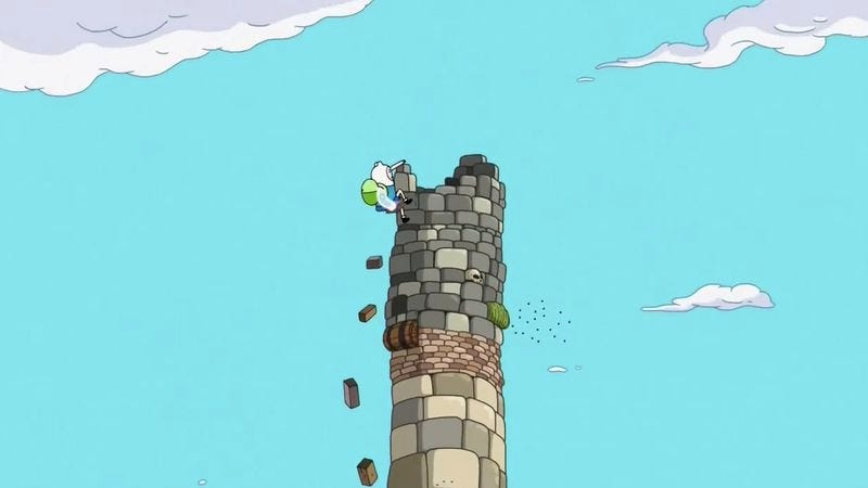 """Illustration for article titled Adventure Time: """"The Tower"""""""