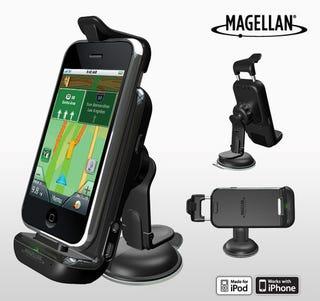 Illustration for article titled Magellan's Premium iPhone Car Kit