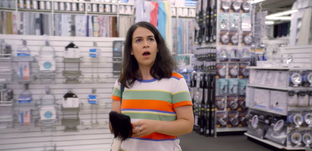 Abbi returns to Bed Bath & Beyond in thisBroad City exclusive
