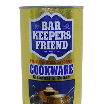 Illustration for article titled Bar Keepers Friend Gets the Deepest Stains Out of Cookware and Other Metal